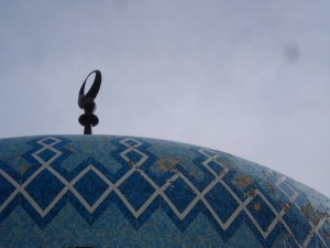 The top of one of Egypt's many mosques